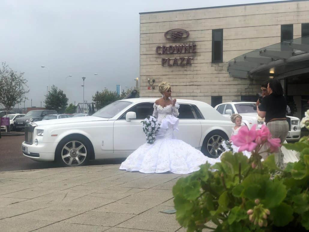 Wedding Cars St Helens. Rolls Royce Hire St Helens